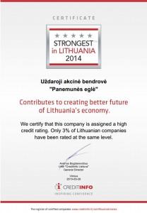 certificate EN
